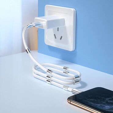 Магнитный USB кабель Высокое качество  Быстрая зарядка  Удобный кабель