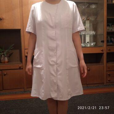 Медицинская одежда - Кыргызстан: Продаю медицинский халат размер стандартный