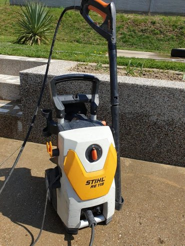 Masina za kucanje - Srbija: Masina za pranje pod visokim pritiskom Stihl RE 119 je masina idealna