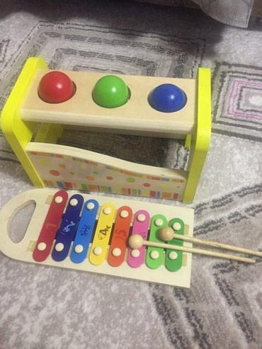 Деревянная игрушка с ксилофоном в Бишкек