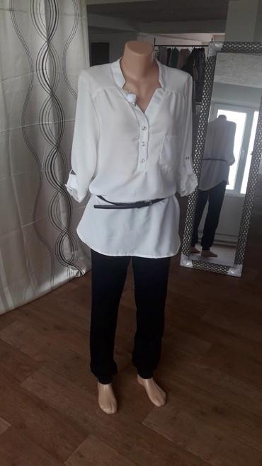 Блузки, размеры 44-52, ремешки 3 цветов: белый, черный и рыжий   в Бишкек