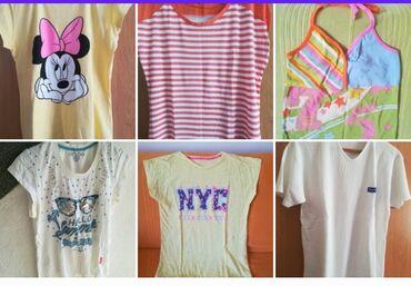 Ženska odeća | Vranje: Paket 6 letnjih majica vel XL sve za 1300 din, obim grudi 84-94 cm