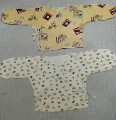 детская кофта в Кыргызстан: Пакетом !!! Детские вещи от 0-3 мес. В хорошем состоянии. Шапочки по 2