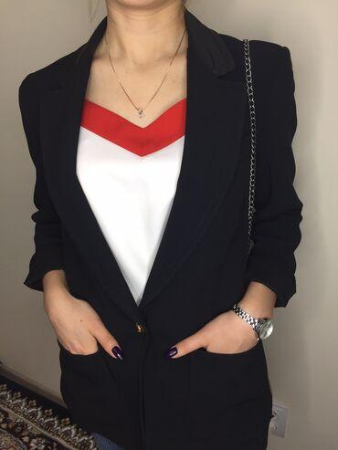 Пиджак чёрный качество люкс удобный модный и не дорого