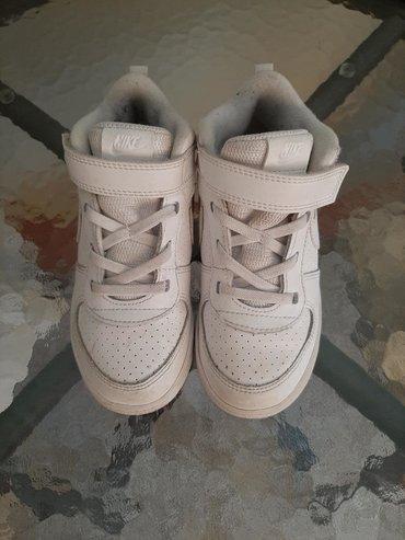 Dečije Cipele i Čizme - Svilajnac: Nike patike broj 27 Nove, nosene par puta