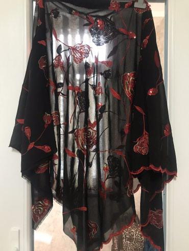 вязание пальто кардиганы пончо в Кыргызстан: Ткань красивая можно на пончо идеально подойдет