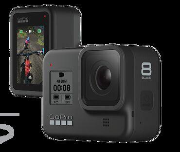 video-kamera-dlja-skajpa в Кыргызстан: GoPro Hero 8 black (original) +Палка-штатив  В пользовании 1 неделя