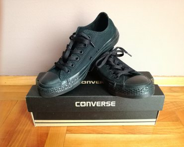 NOVE Converse patike, broj 37, skroz crne. - Zitorađa
