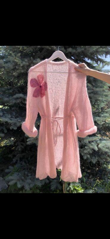 женская одежда вечерние платья в Кыргызстан: Кардиганы ручной работы из натурального кид мохера