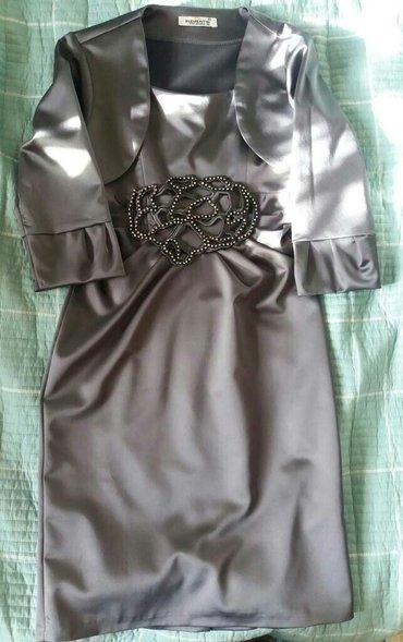 Платье темно-серого цвета, было одето 1 в Бишкек