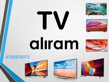 böyük çantalar - Azərbaycan: Televizor alıram. işlək vəziyyətdə, problemi, sınığı olmasın. LED TV