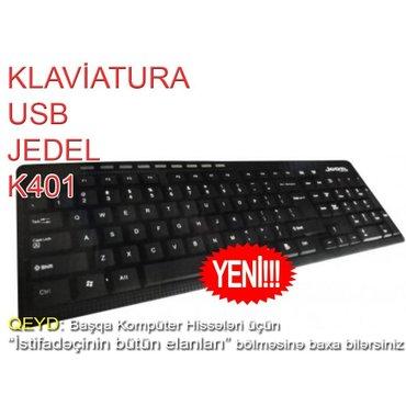 Bakı şəhərində Klaviatura JEDEL K401. Yenidir. Karopkada. Keyfiyyətli