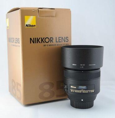 фильтр для вытяжки бишкек in Кыргызстан | ДРУГАЯ БЫТОВАЯ ТЕХНИКА: Объектив Nikon 85mm 1.8G AF-S Nikkor   Продам топовый портретный объе