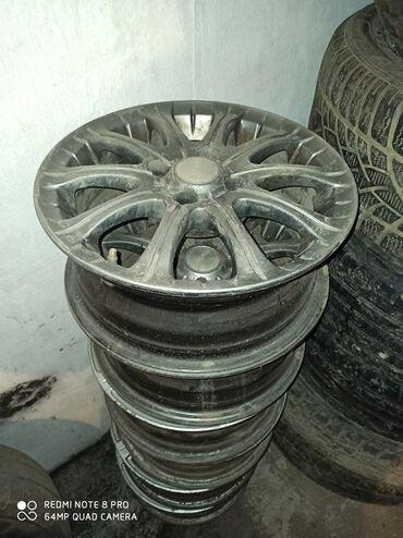 r14 диски в Кыргызстан: Продаю диск комплект R14 Россия 4х дырочная пойдет на пассат,Ауди