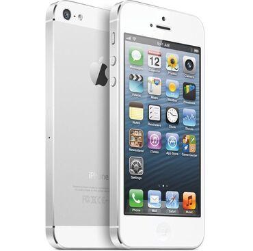 iphone-5-c в Кыргызстан: Айфон 5 G/ 16 gb. Серебро. Все родное. Коробка есть