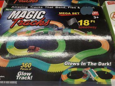 Magic tracks, svetli u mraku, savija se mogu razni oblici staze da se