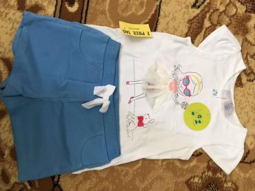 футболка с шортиками индия очень красивый и качественный набор на 3-4- в Бишкек