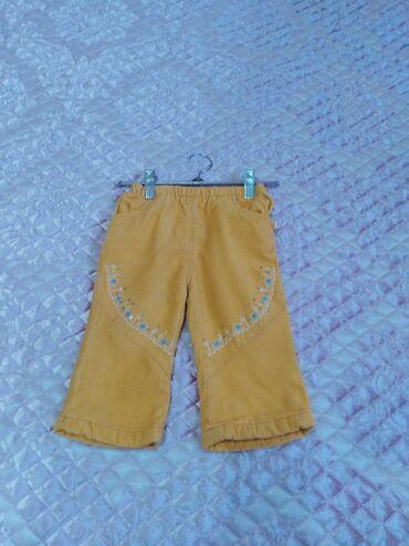 Детский мир - Тынчтык: Штанишки для девочки длина 41см 120сом мелкий вельвет с тоненьким