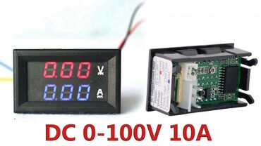 Электроника - Кара-Суу: Китайский Амперметр Вольтиметр ds0-100v. 0-10A