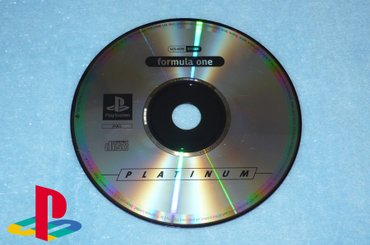 PlayStation 1 One - FORMULA ONE - PLATINUM - Kucevo