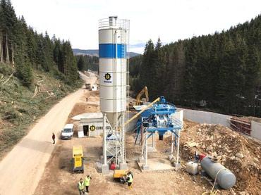 Компактный бетонный завод С-45 SNG PROMAX в Бишкек