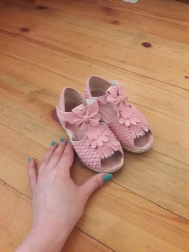 детская обувь 2 года в Азербайджан: Usaqcun 27 razmer 2 defe geylib
