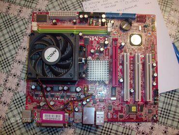 Maticna ploca | Srbija: Maticna ploca MSI MS-7312 Ver-1.0 K9MM-V socet AM2 sa procesorom, plo