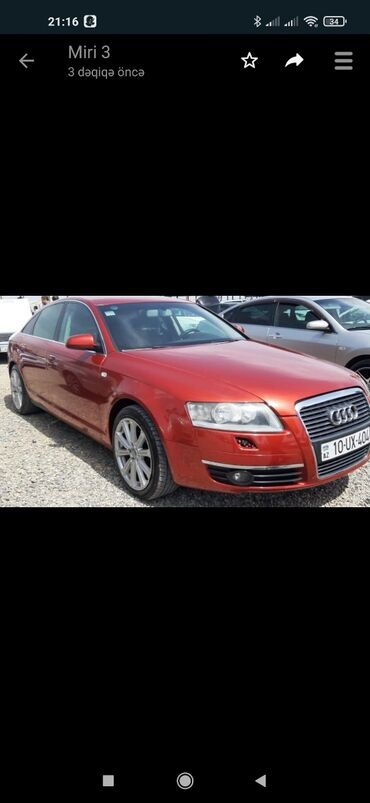 audi a4 2 8 аt - Azərbaycan: Audi A7 2.4 l. 2005 | 254244 km