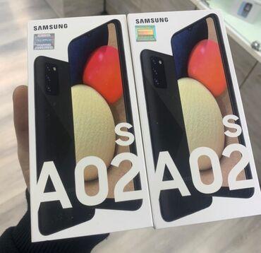 265 elan: Samsung A02 S | 32 GB | Qara | Zəmanət, İki sim kartlı