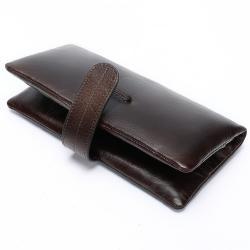 сумка клатч ручной работы в Кыргызстан: Стильный винтажный мужской коричневый клатч портмоне ручной работы