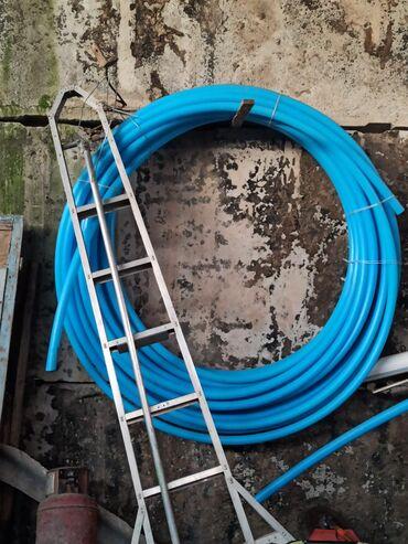 в Талас: Водопроводная пластиковая труба экологический диаметр 50мм, 100 метр