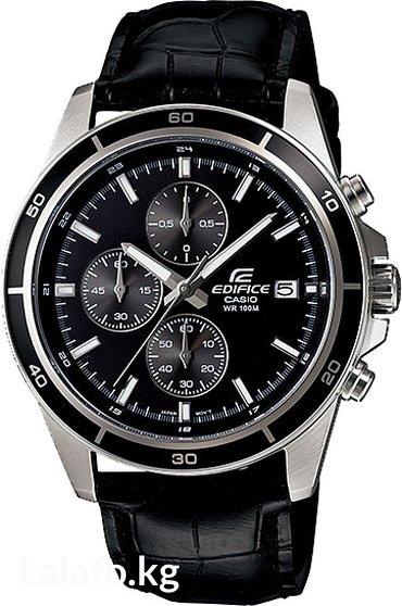Оригинальные часы casio edifice efr-526l-1a с хронографом. Отличный по