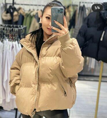 Куртки - Кыргызстан: Куртка Zara б/у в хорошем состоянии. Рассматриваю обмен