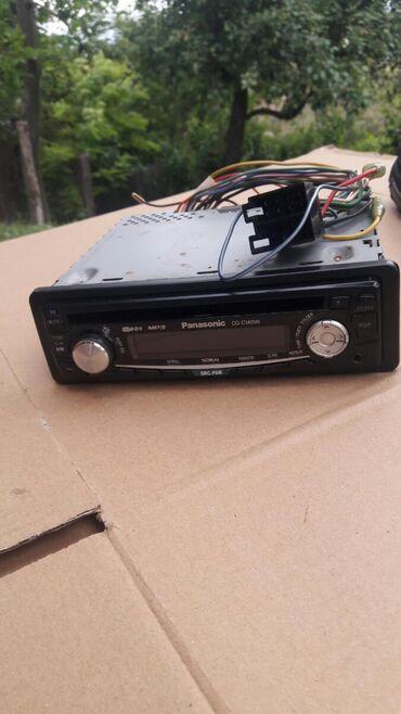 Audio oprema za auto   Srbija: Prodajem panasonik radio cd. U okk stanju kao nov. cena 2500 din