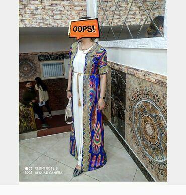 Продаю накидку+платье смотрится шикарно, размер 46-48-50 пойдет