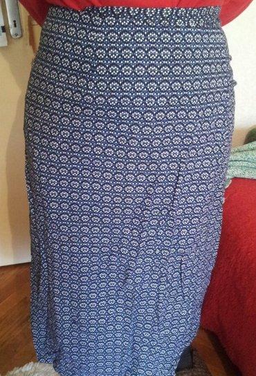 Suknja sl - Srbija: Suknja na preklop-za plažuŠarena (dominira teget) suknja na preklop