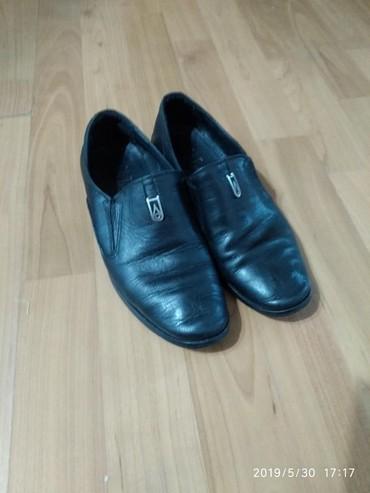 женские туфли кожа в Кыргызстан: Туфли мал. школ. кожа. на 3-4 класс