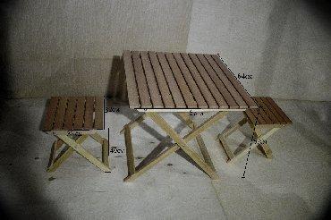 sumqayit bag evleri - Azərbaycan: Удобный раскладной стол стул трансформер из масива клен и бука, не