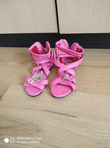 Decije sandale nosene par puta bukvalno su kao nove, nemaju ni jednu