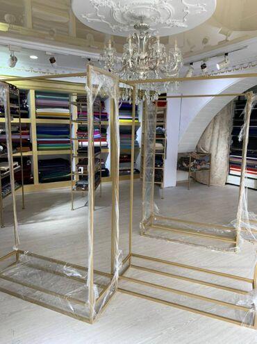 теплый пол под ковер бишкек цена в Кыргызстан: 9 кронштейнов 2 этажные стойки с полками Со стёклами Цена за