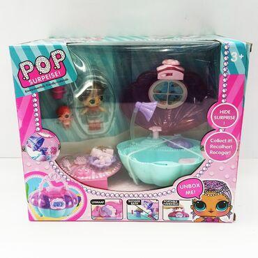 Лол POP ванная с куколкой.Веселое развлечение для девочки и отличный