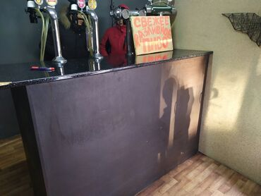 барная стойка в Кыргызстан: БАРНАЯ СТОЙКА, продаю срочно, цена договорная, торг уместен