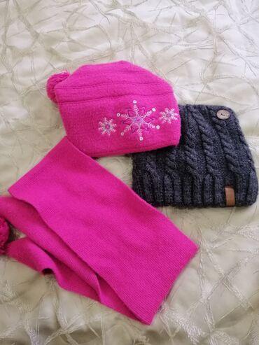 Зимняя шапка+шарф,  Шапка зимняя. Ща всё 500 сом