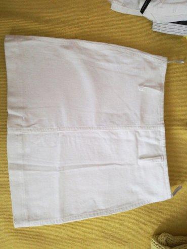 Bela suknja od somota velicina 36 - Smederevo