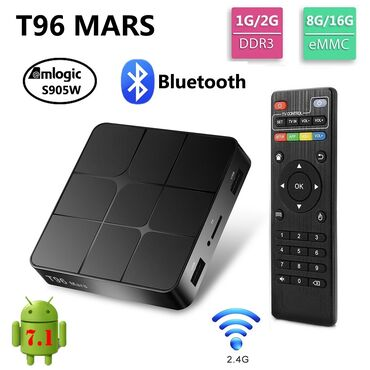 smart tv box - Azərbaycan: Smart Tv Box T96D Original.Android 9 Dual Band Wi Fi.Qizma donma