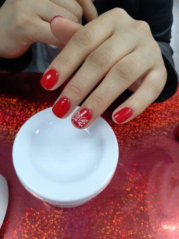 Мода, красота и здоровье в Токмак: Маникюр+шеллак 300сУкрепление ногтевой пластины 400сНаращивание ногтей