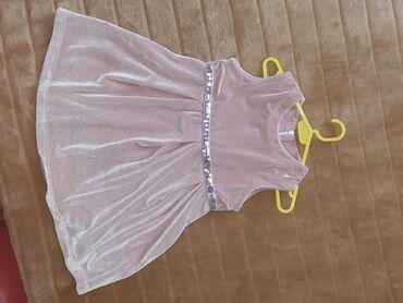 Etiketa-otkinutaduzinapoluobim-strukadubina-napredd - Srbija: Prelepa haljina za devojcice. Samo skinuta etiketa. Velicina 4