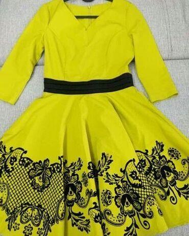 Продаю платье б/у в отличном состоянии. Размер 42. Цена 2000 с. (брала