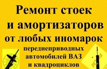 Прокачка и восстановление в Бишкек