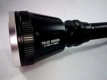 Lampa za lov - police  bl-q2888-t6 germany  profesionalna  vrhunska - Bela Palanka